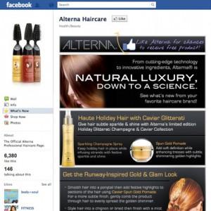 Facebook Landing Tab - Alterna Haircare