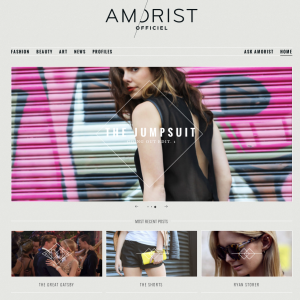 Fashion Blog on WordPress