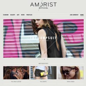 Fashion Blog on WordPress