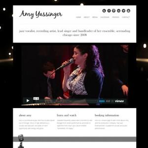 Jazz Artist Website
