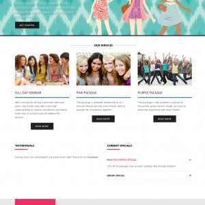 Sorority Consultant Website