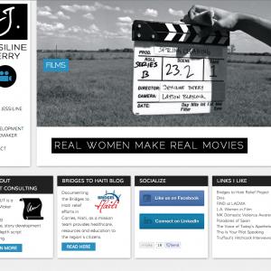 Director's WordPress Portfolio Website