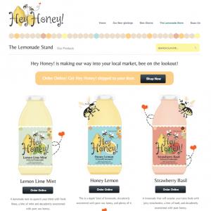 Artisinal Lemonade Online Store