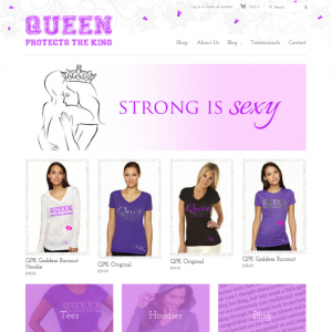 Shopify Store Design - Clothing Company