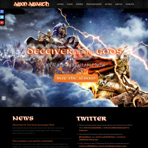 Metal Band Responsive WordPress Website