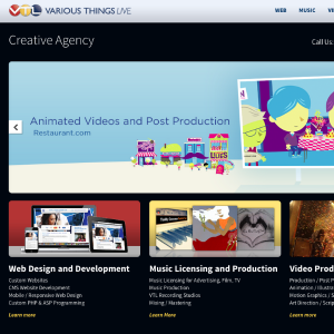 Media Company Portfolio WordPress