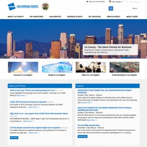 Economic Development Corporation WordPress Website