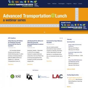 Government Transportation Center WordPress Website