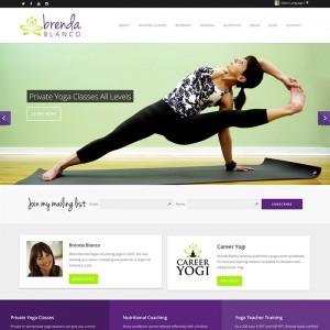 Yoga Teacher WordPress Website