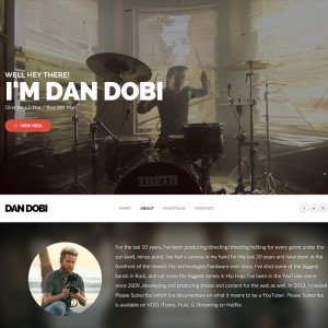 Filmmaker WordPress Portfolio