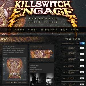Artist WordPress Website