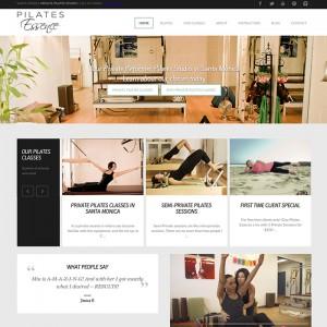 Pilates Studio WordPress Website
