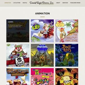 Professional Portfolio WordPress Website